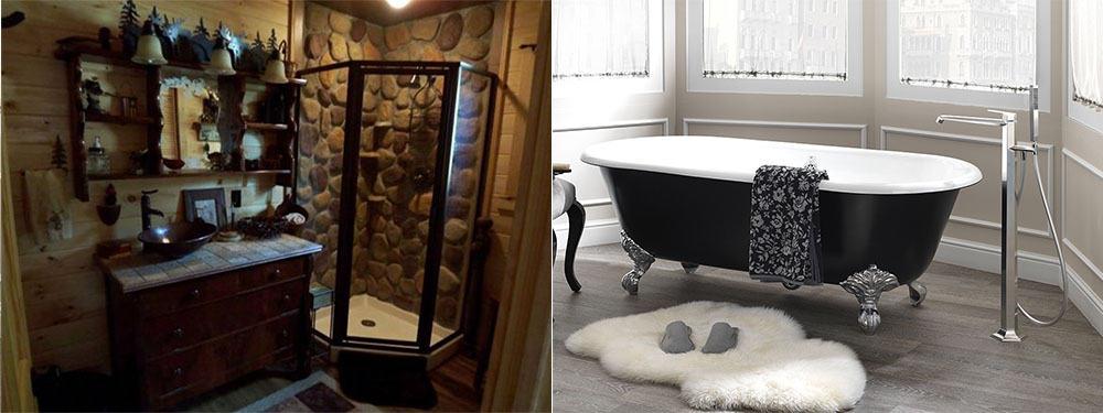 Трендовая душевая кабина и ванна идеи ванной 2018