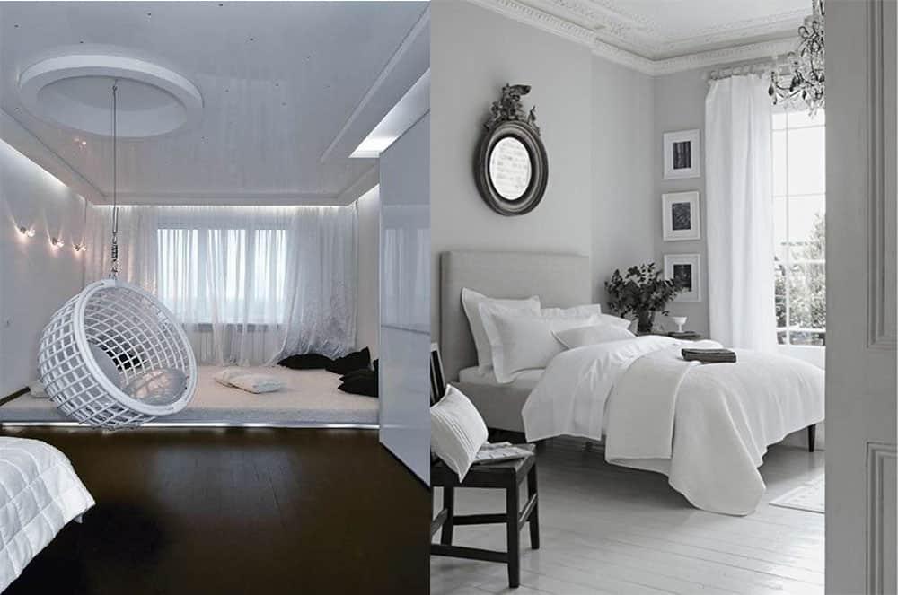 Интересные варианты и трендовые идеи Белая спальня