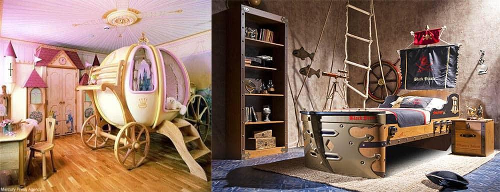 Волшебная мебель для сказочной детской дизайн детской комнаты