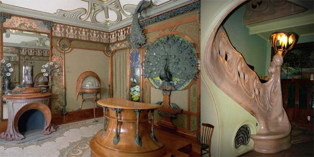 Прелесть гостиных в стиле Ар Нуво Гостиная в стиле модерн