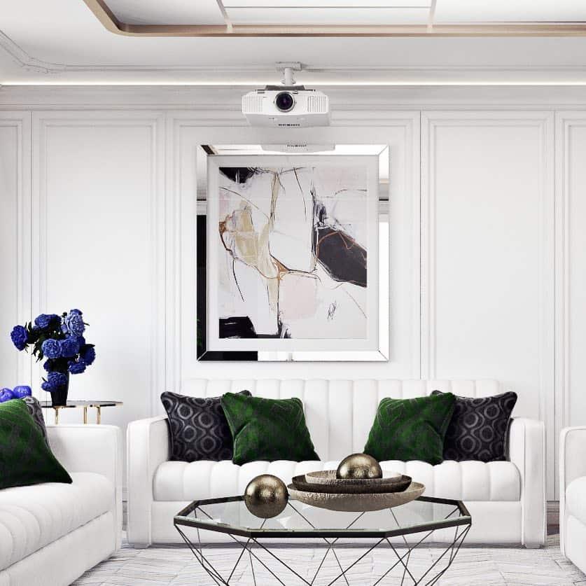 Гостиная-в-стиле-модерн
