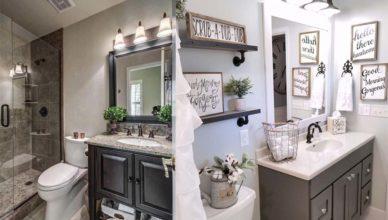 Отличные трендовые идеи для оформления небольшого пространства ванной комнаты Дизайн маленькой ванной