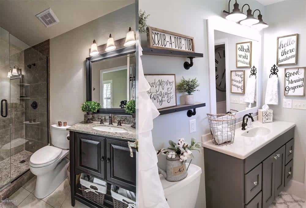 Дизайн ванной маленькой комнаты - 80 фото идей 2018 13