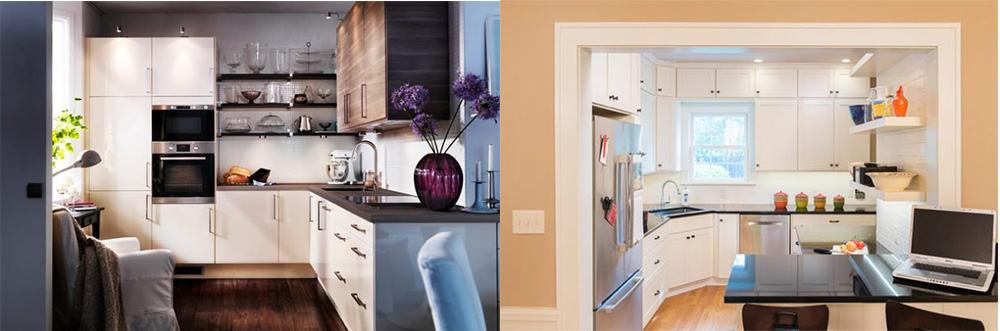 Интересные варианты оформления пространства кухни Дизайн угловых кухонь 2018