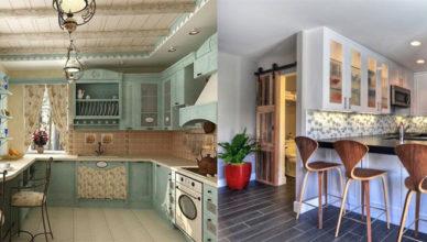 Универсальные трендовые идеи для разных стилей и габаритов кухонь Дизайн угловых кухонь 2018