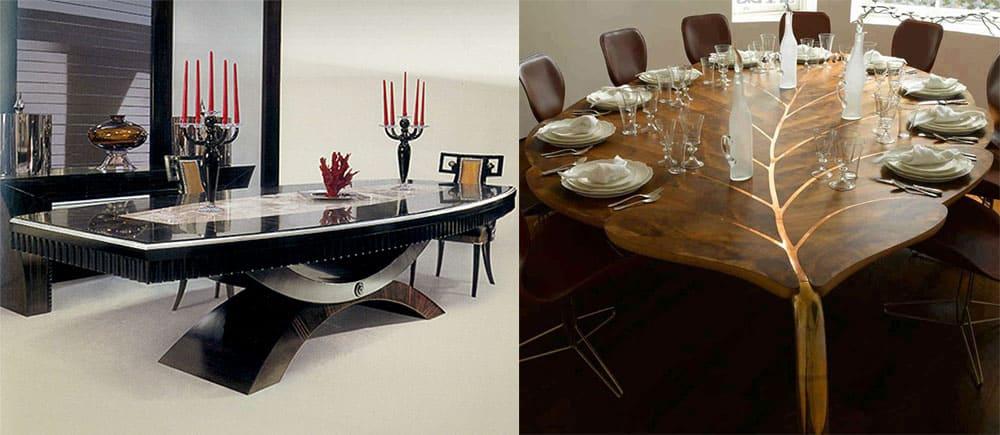 Индивидуализм в оформлении столовой дизайн интерьера столовой