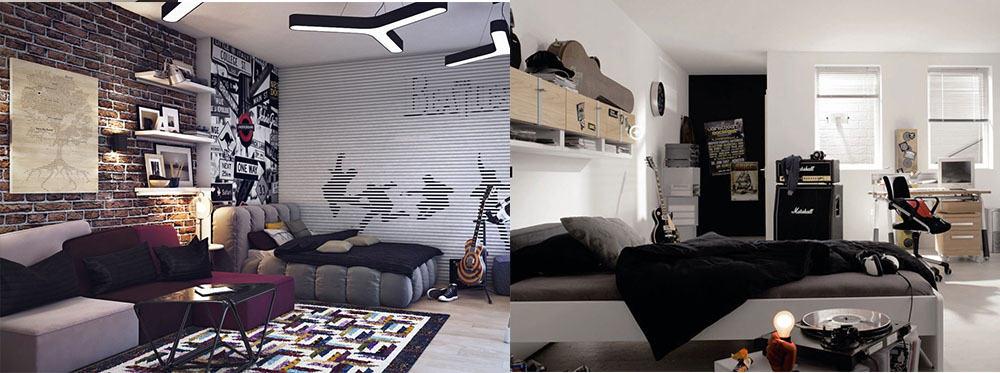 Дизайн спальни подростков фото 2018 современные идеи