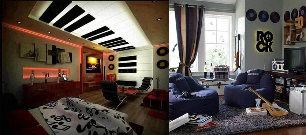 Комната и уголок для музыканта интерьер подростковой комнаты