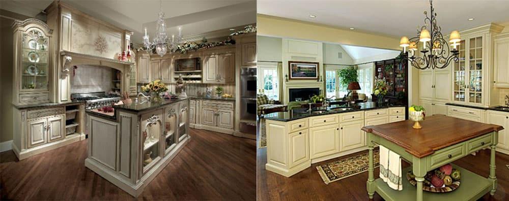 Интересная стильная кухня Кухня в английском стиле