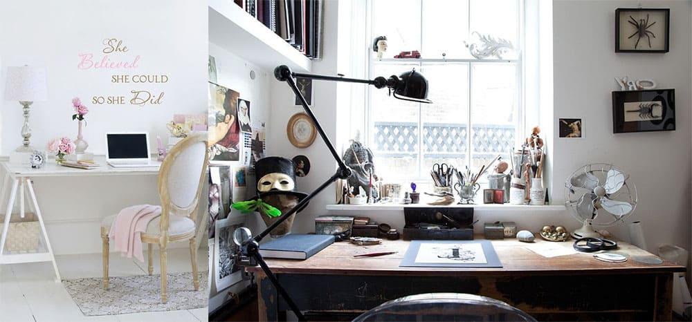 Магия белого преображения в различных стилях интерьер кабинета