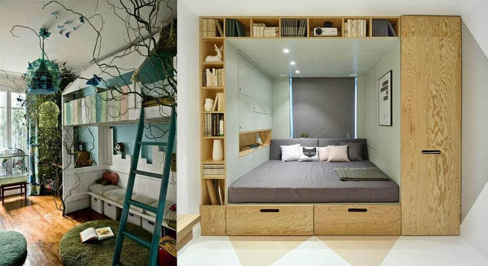 Мебель для комнаты подросткакрасивые стильные варианты экономящие пространство интерьер подростковой комнаты