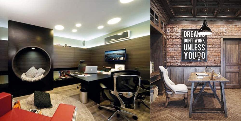 Мебель для офиса удобная обстановка интерьер кабинета