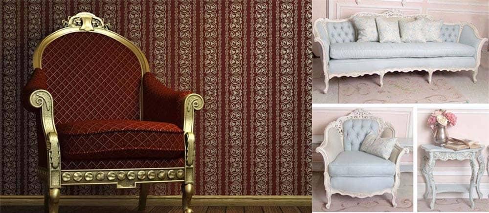 Королевская мягкая мебель для классического дизайна прихожей Классическая прихожая