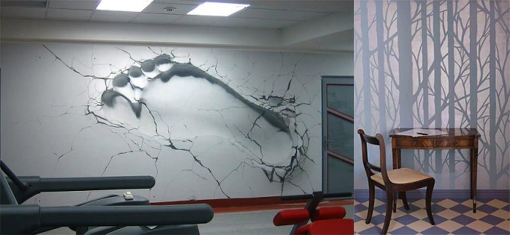Необычные обои для комнаты подростка дизайн подростковой комнаты