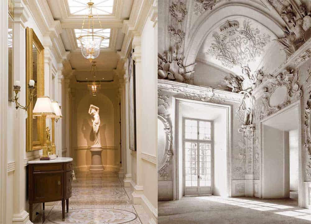Невероятное освещение и лепнина превосходная классическая прихожая стили интерьеров прихожих