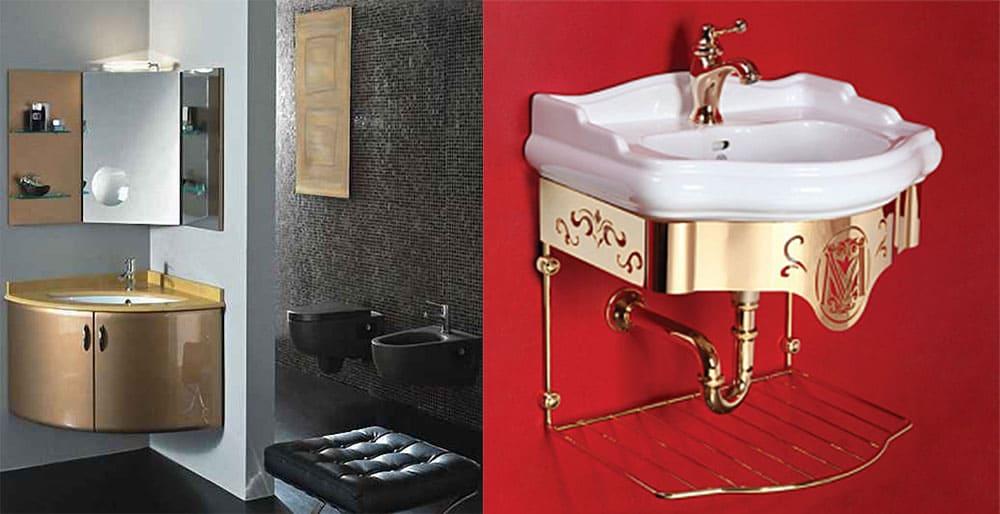 Подвесная мебель для маленькой ванной комнаты идеи дизайна ванной