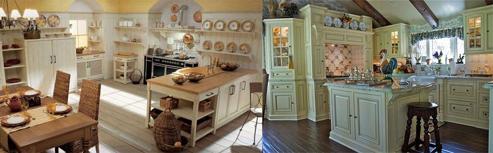 Посуда для декора в старинном стиле идеи дизайна кухни