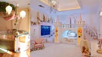 Фэнтезийный дизайн детской комнаты тренды и идеи Сказочная детская