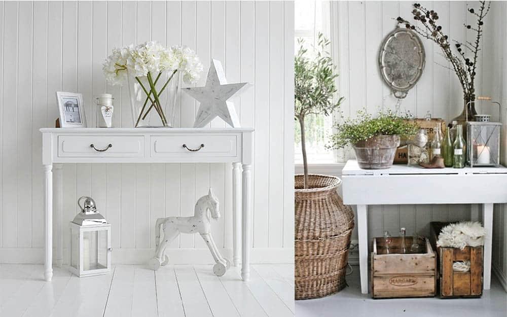 Столики в прихожей в стиле прованс идеи дизайна прихожей