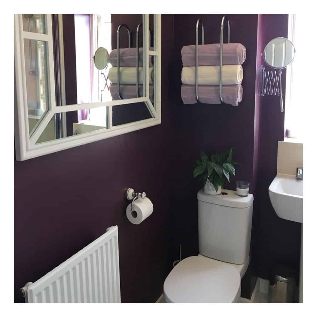 Фиолетовая-ванная