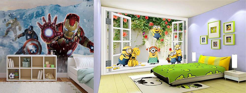сказочная детская тематический дизайн детской комнаты
