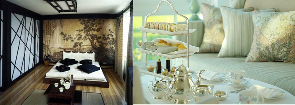 Чайный столик в интерьере спальни интерьер спальни 2018