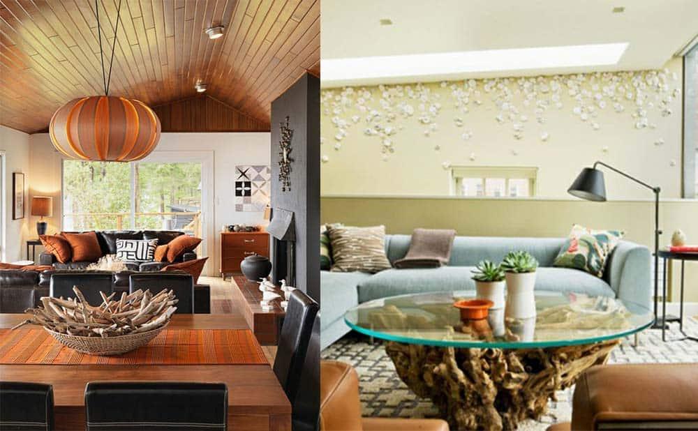 Красота природных форм и материалов Экостиль в интерьере - экостиль в интерьере квартиры фото