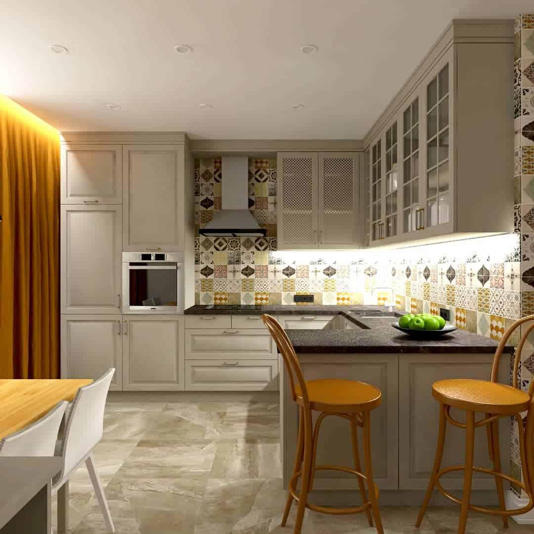 кухня-в-английском-стиле-дизайн