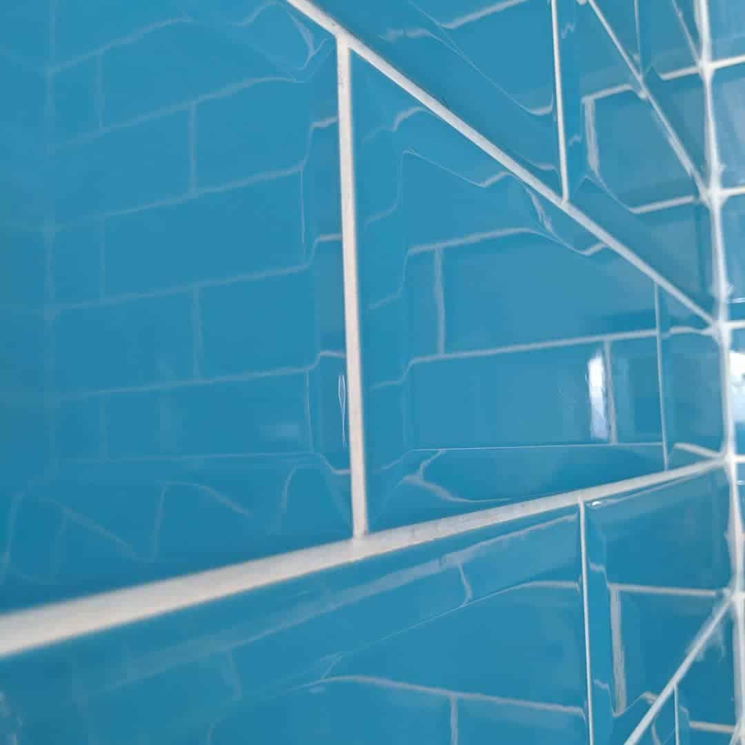плитка-для-ванной-синяя Синяя Ванная фото