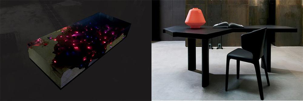 Асиммерия в форме и расцветке последний тренд мебели Мебель 2018