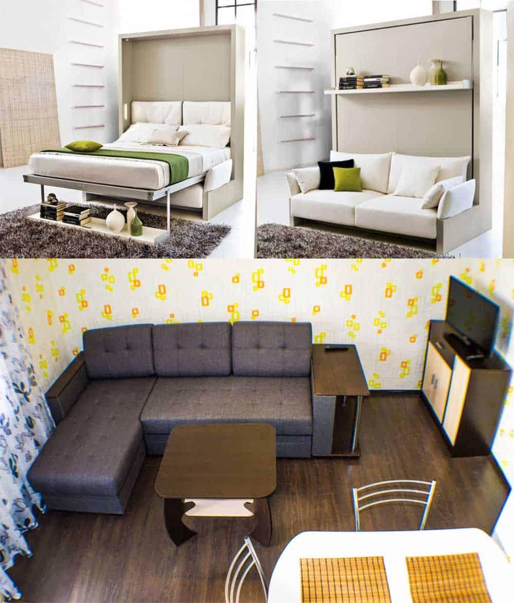 Варианты дивана-кровати для квартиры студии дизайн квартиры студии 2018