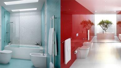 Трендовые решения и интересные хаки Дизайн ванной комнаты с туалетом 2018
