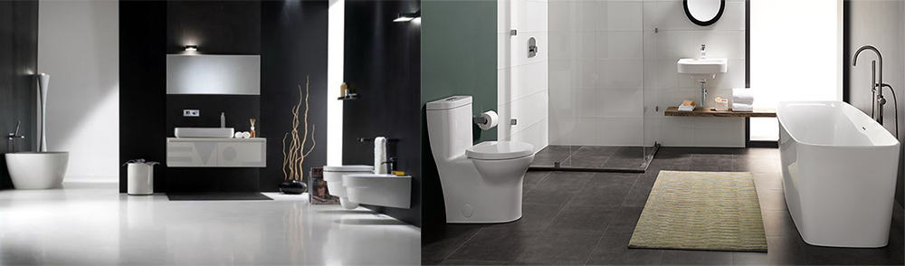 Оригинальные идеи для дизайна совмещенной ванной Дизайн ванной комнаты с туалетом 2018