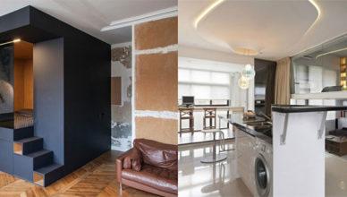 Новейший трендовый дизайн квартиры студии 2018
