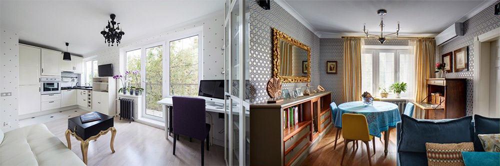 Интересные варианты дизайна для маленькой квартиры хрущевки Дизайн квартиры хрущевки 2018