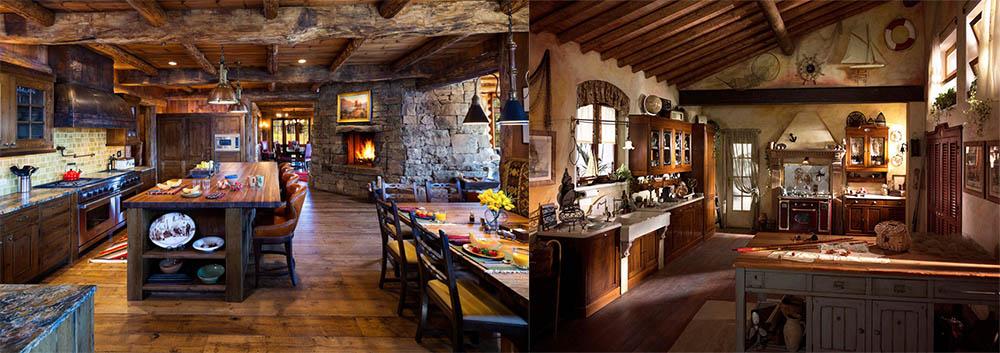 Интересные идеи для дизайна кухни Дизайн кухни в частном доме 2018
