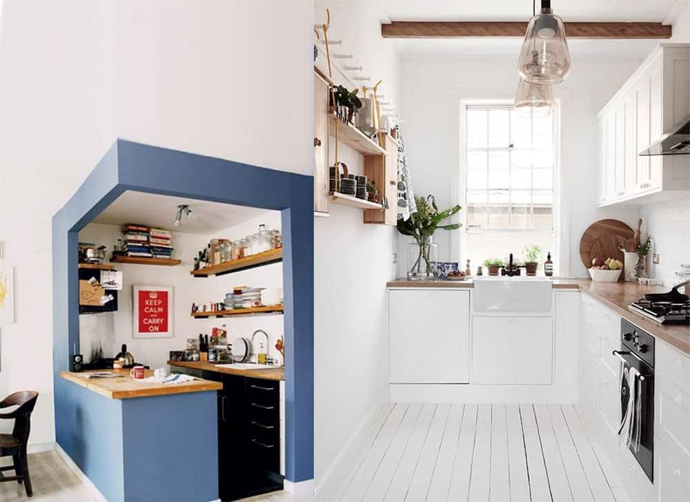 Интересные идеи и тренды в дизайне маленьких кухонь дизайн маленькой кухни 2018