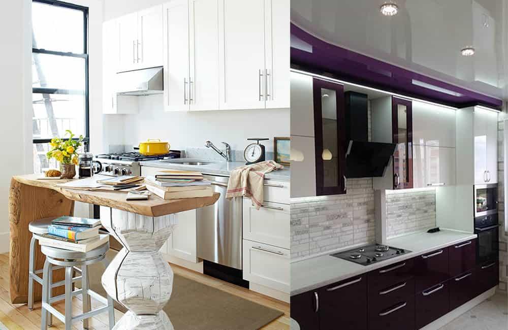 дизайн маленькой кухни 2018 идеи декора кухни