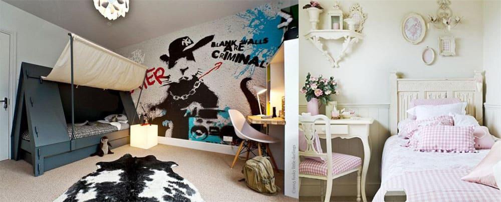 Трендовый интересный дизайн маленькой спальни 2018 с приемами визуального увеличения пространства
