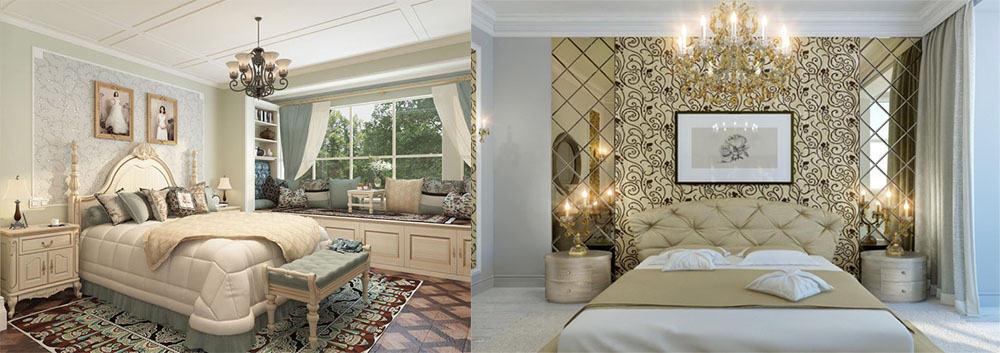 Идеи дизайна классической спальни для любых размеров комнаты Дизайн спальни в классическом стиле 2018