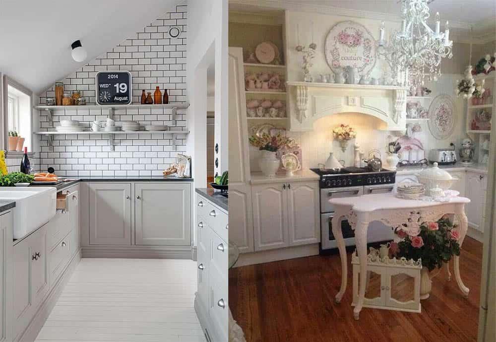 Идеи маленькой кухни Дизайн кухни в частном доме 2018
