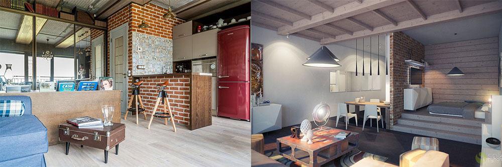 Стиль лофт 2018 года для квартиры студии интерьер квартиры студии