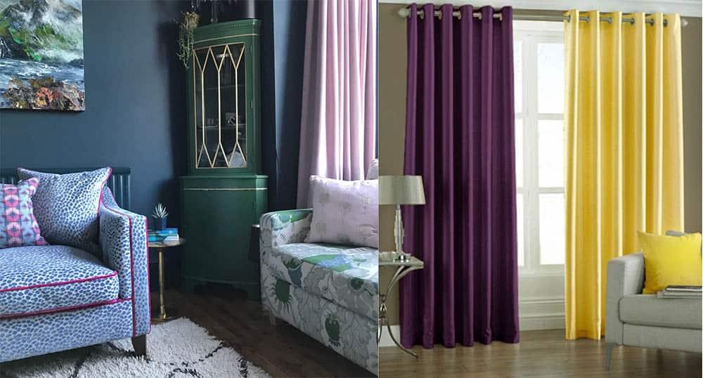 Интерьер и дизайн штор в гостиной Красивые и современные 39