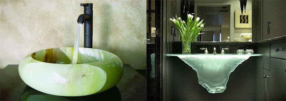 Природные формы оригинальных современных раковин Идеи интерьера ванной
