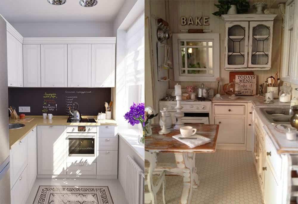 Маленькая кухня в светлых тонах стили и варианты оформления Дизайн кухни в хрущевке 2018