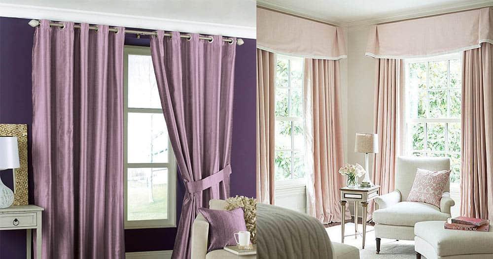 Трендовые светлые тона для спальни шторы для спальни 2018