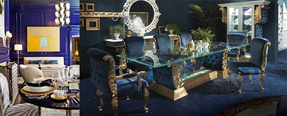 Синий цвет в классическом интерьере классический стиль в интерьере