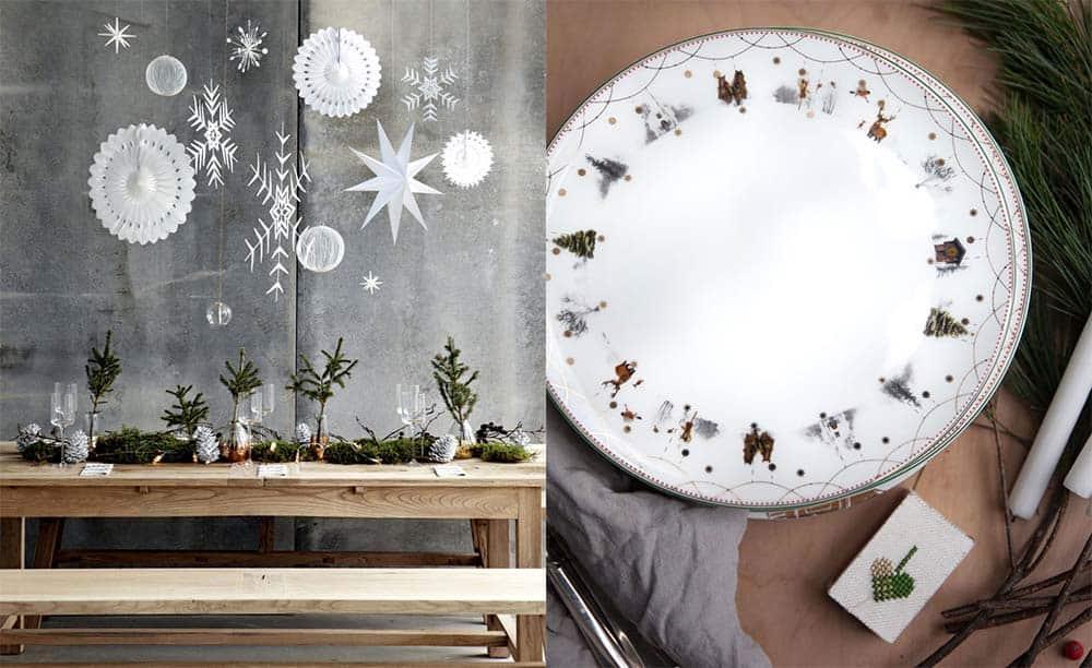 Скандинавский стиль настоящая зимняя сказка новогодний декор 2018