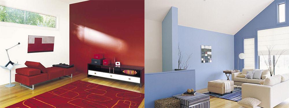 Отличные цветовые решения для гостиной комнаты Современный дизайн гостиной 2018