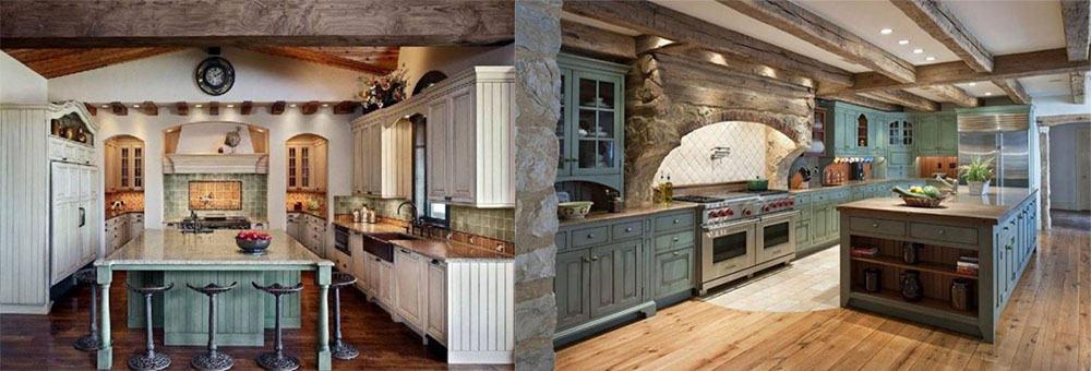 Интересная трендовая кухня с островом идеи интерьера кухни